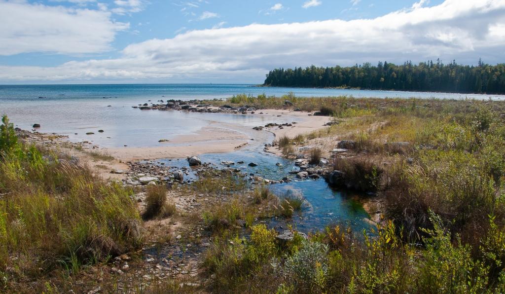 Shore of Lake Huron (2)
