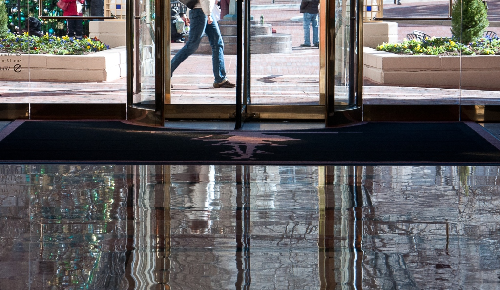 Entrance reflections (2)