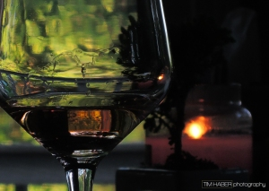Wine by candle light