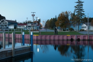 Hessel Marina at dusk (1)